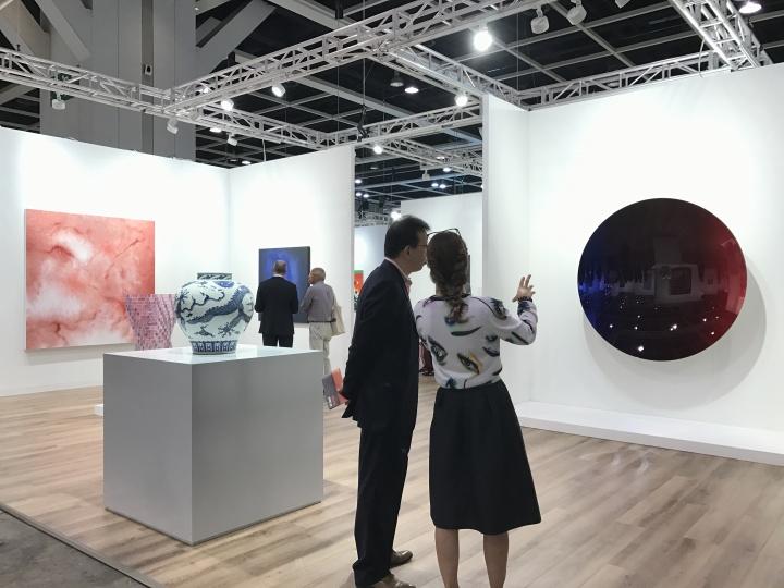 香港巴塞尔博览会里森画廊展位