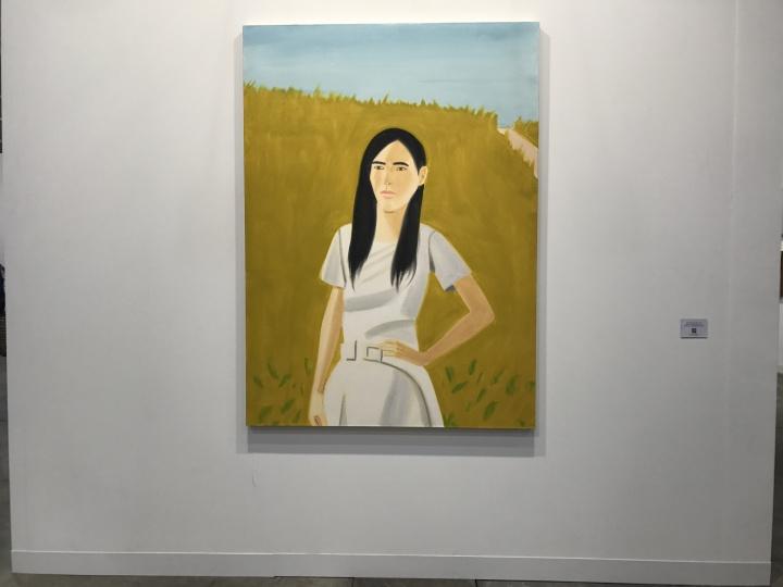 泰勒画廊带来的两张亚历克斯·卡茨(Alex Katz)的人物作品,当日在240万元人民币的价位上已经全部被预定。