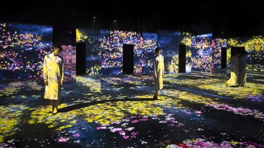 佩斯北京《花之森林,迷失、沉浸与重生》现场