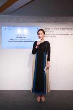 ART021 上海廿一当代艺术博览会联合创始人应青蓝在发布会现场