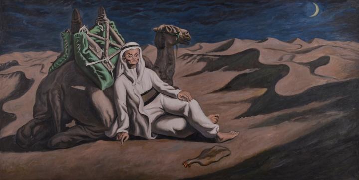 阿里巴巴 2,布面油画,170×335cm,2016