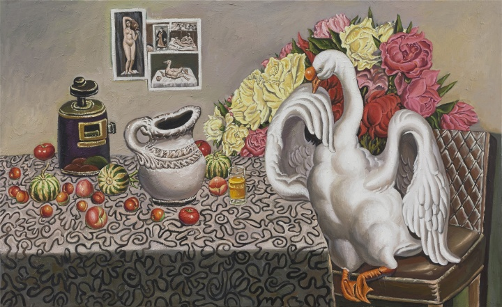无题,135cmx220cm,布面油画,2015