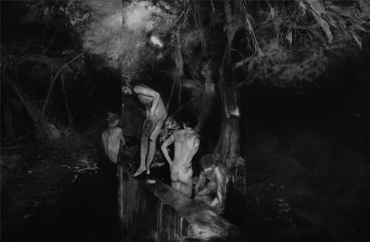 刘海辰 《燃烧的意志 No.02》 100×150cm 铜版画 2015