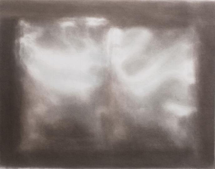 《反光》 58×74cm 纸板丙烯 2017