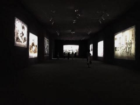 展览现场 图片来自网络