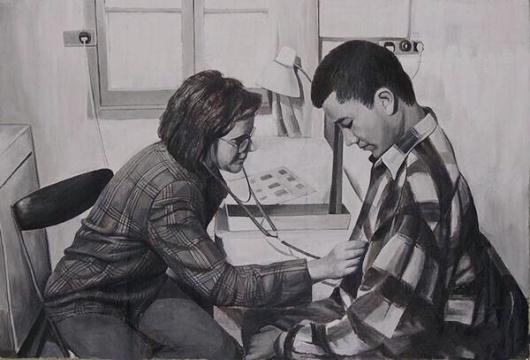 《必须/第四幕 看病》 片长9分17秒黑白单屏电影 1996年 图片来自网络