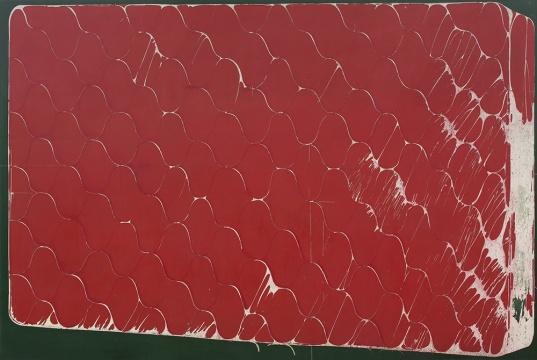 《温床1》200×300cm布面丙烯综合材料2016