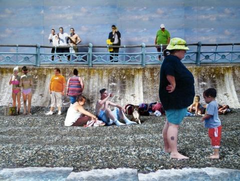 马克·佩奇(英国)《海边的苏德利》