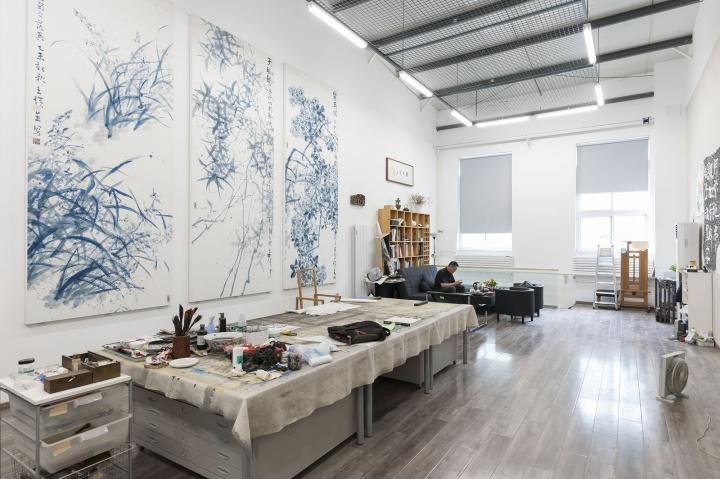 王璜生位于北京顺义后沙峪的工作室(摄影:董林)
