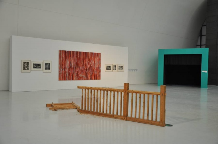 """""""首届CAFAM泛主题展:超有机一个独特研究视角和实验""""展览现场(2011)"""