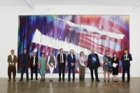 """德国8""""对话--色彩的空间维度""""在元典美术馆开幕,演绎跨越时空的艺术对话,卡塔琳娜·格罗斯,戈特哈德·格劳伯纳"""