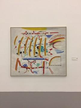 皮特·布吕宁《无题》175 x 200 cm布面油彩 由杜伊斯堡库珀斯米尔勒当代艺术博物馆斯多赫收藏提供