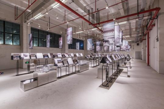 第二届上海城市空间季附属楼现场