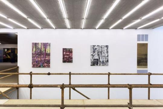 """作为""""观景台"""",策展人将更为宽广的风景作品作为二楼陈列的主题"""