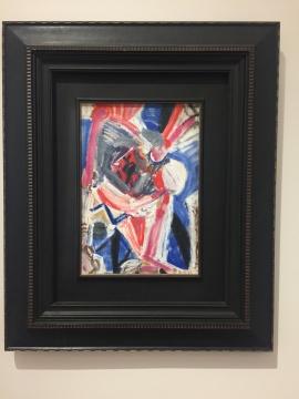 吴大羽 《无题100》 53.7×37.2cm 布面油画 约1980