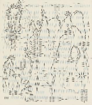黄致阳 《千灵显 1701》 绢、水墨、矿物颜料 2017