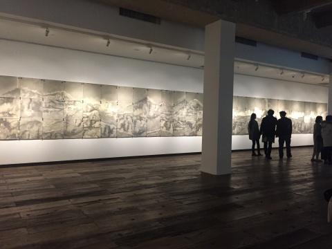 """MAKING / 造"" 苏新平 《荒原》 168×1848cm 纸上铅笔 2016"