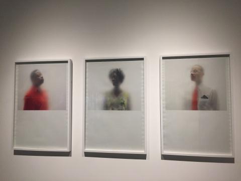 """MAKING / 造"" 安·哈密尔顿 《唯一的每个人》每张63.5×96.52cm 2012"