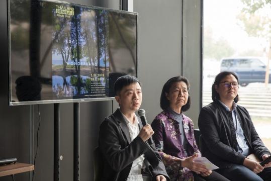 首届泰国双年展邀请英国伯明翰城市大学艺术学院教授、策展人姜节泓担任主策展人