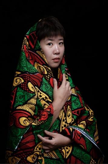 刘冰 艺术家(摄影:董林)