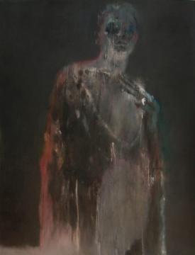 谢其 《樊女王》 230 × 175 cm 布面油画 2009