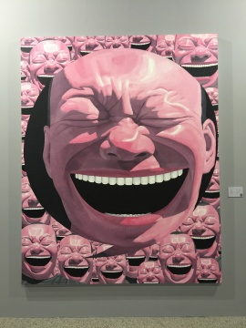 《逗号》250×201cm 布面油画 2016