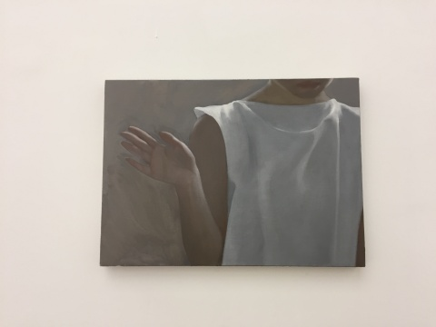 《不,再见》 34×47cm 布面油画 2017