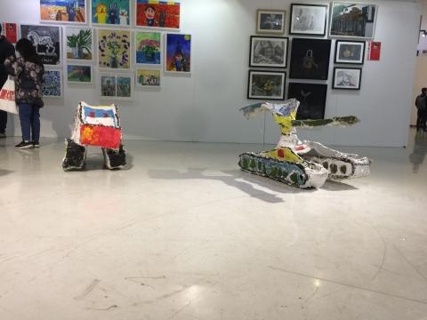 孩子们的绘画party LUMI ART携手Y·ART打造京港少儿美育联合平台