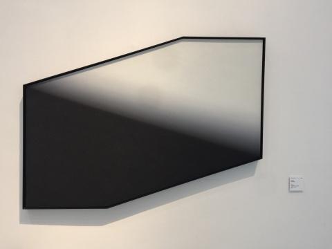 陈文骥 《1/2》 101×140cm 综合材料 2017