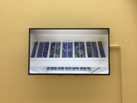 郑国谷:《幻化窗花,显影过程》影像