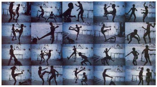 米格尔·里奥布朗库《蓝色探戈》40×60cm/幅 Blue Tango 摄影(Fujifle×相纸) 1984-2017