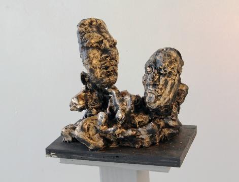 圣克莱尔·切明《伊俄卡斯忒和拉伊俄斯》35×30×20cm青铜 2017