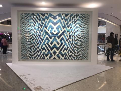 徐渠《迷宫》250 x 375 cm 布面丙烯 2016
