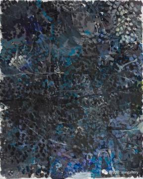 《成都花园》 56x45cm 布面丙烯 2016