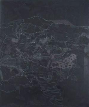 《山水》 60x50cm 布面丙烯 2016