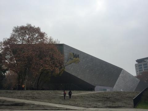 于2015年开馆的万林艺术博物馆