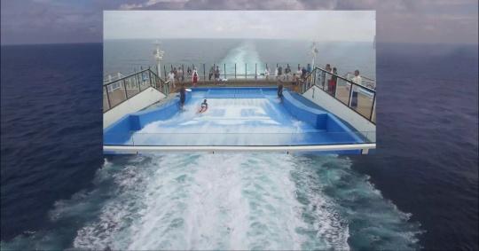 李亭葳 《白鲸,海浪》5分钟5秒 单屏幕视频 2017