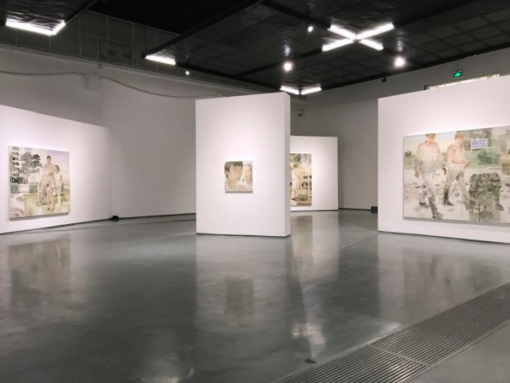 """夏禹个展""""果园""""在蜂巢当代艺术中心展览现场"""