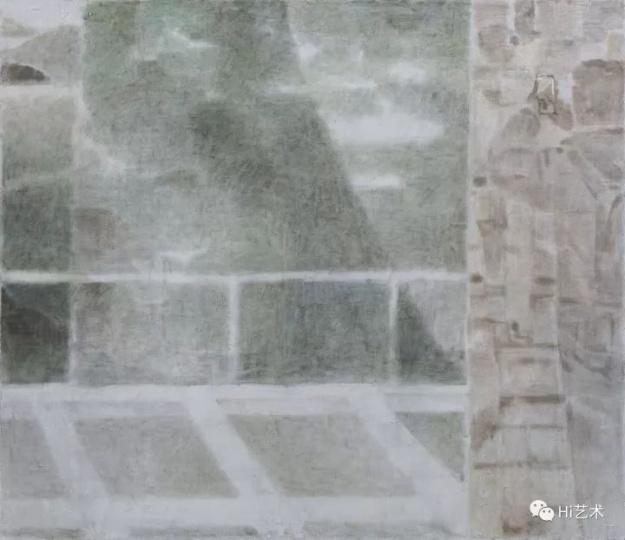 《看见山Ⅱ》200×230cm布面坦培拉 2017