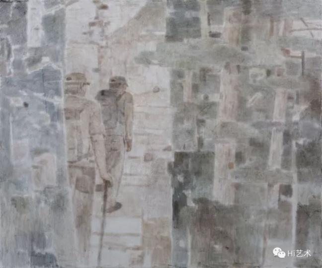 《看见山Ⅰ》200×240cm布面坦培拉2017