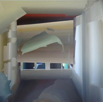 史怡然 《开端》120×120cm布面油画2017