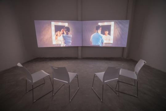 """样当代艺术空间计划空间正在展出来自台湾的艺术家廖祈羽展览""""河去河淙淙"""""""
