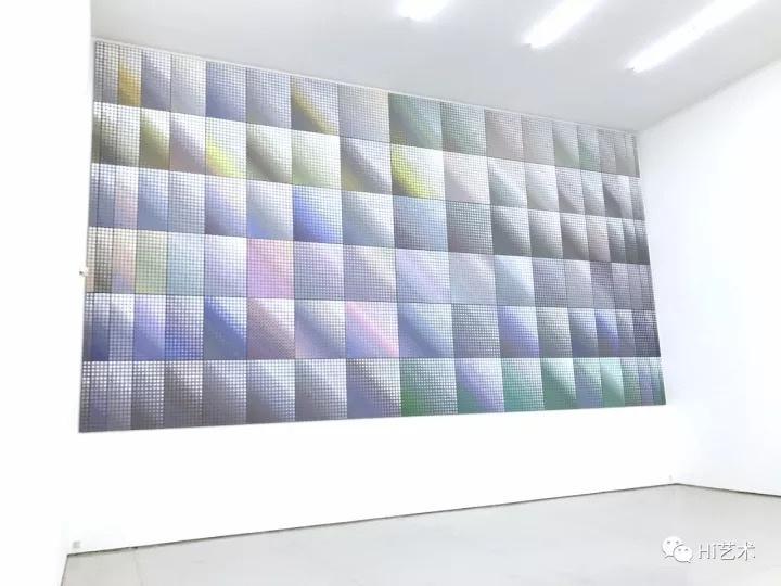 《深白》 540×1000cm 布上丙烯,绘画装置2016-2017