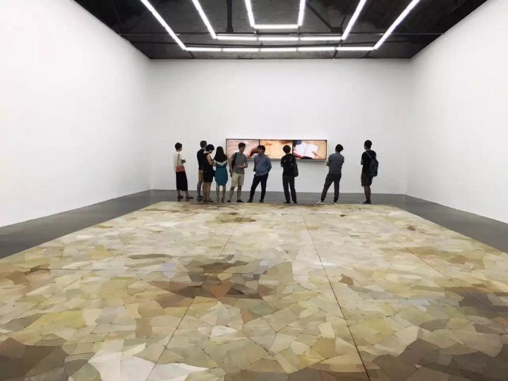 """马秋莎在北京公社的第五次个展""""沃德兰""""现场"""