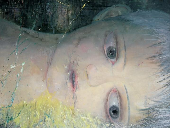 韦嘉 《大卫 III》 300cmx150cm 布面丙烯 2007