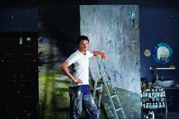 2008年韦嘉在重庆的工作室