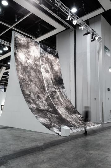 2017年香港巴塞尔,墨斋参展的冰逸个人项目