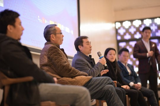 北京圣唐创意总经理徐东现场发言