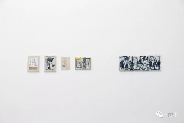 """3月4日,刘晓辉个展""""两个动作""""在香格纳画廊北京空间现场"""