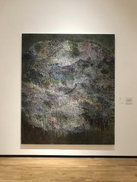 《抽象绘画20131231》245×207cm 布面丙烯 2013